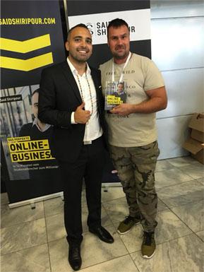 Michael Kotzur zusammen mit Said Shirpour