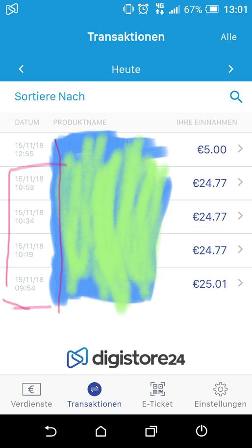 100 € in der Stunde mit Digistore24